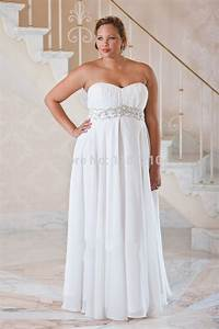 Long cheap plus size wedding dresses 2015 summer beach for Wedding dresses cheap plus size