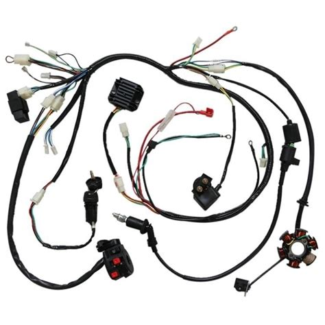gy6 150cc electrics stator wire harness loom magneto coil cdi rectifier solenoid ebay