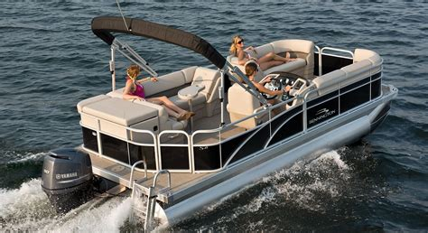 Crest Pontoon Boat Dealers In Nc by S21 Cruise Pontoon Boats By Bennington