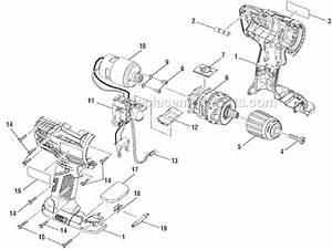 Ryobi P208b Parts List And Diagram   Ereplacementparts Com