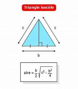 Calcul Volume Litre : calculer l 39 aire d 39 un triangle isoc le connaissant sa base ~ Melissatoandfro.com Idées de Décoration