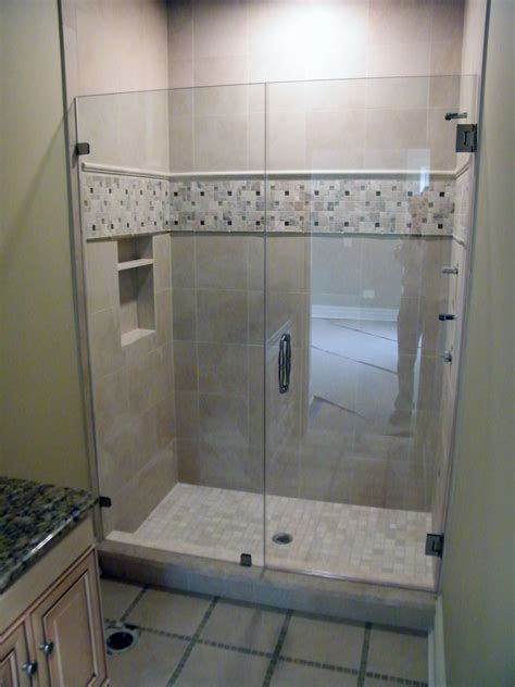 framed  frameless glass shower doors options ideas  homes