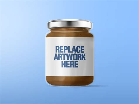 Affordable and search from millions of royalty free images, photos and vectors. Peanut Butter Glass Jar Mockup - Mockup Love