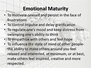 Quotes About Emotional Maturity. QuotesGram