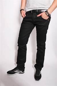 Jean Slim Noir Homme : jean noir homme on le lave sur l 39 envers ~ Voncanada.com Idées de Décoration