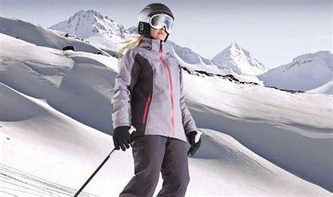 aldi launches budget ski wear range  kits  family        express