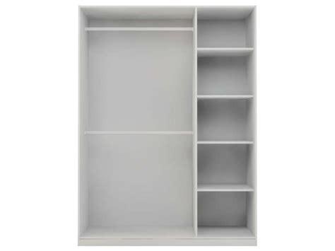 caisse d 39 armoire 3 portes twist coloris blanc vente de