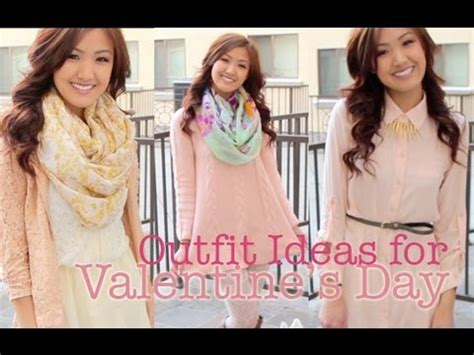 Valentineu0026#39;s Day Outfit Ideas | ilikeweylie - YouTube