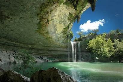 Background Ultra Definition Waterfall Nature Lagoon Austin