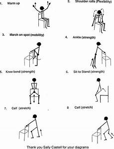 Seated Home Exercise Program Elderly More On Diets And