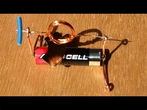 Easy Electric Motor by World Simplest Electric Motor Easy To Build