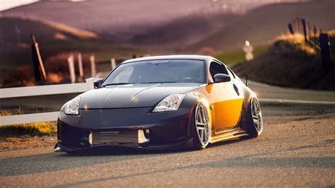 Nissan Backgrounds by Car Nissan 350z Tuning Wallpapers Hd Desktop And