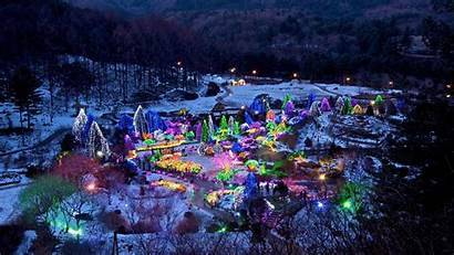 Winter Korea Christmas Wallpapers Wonderland South Lights