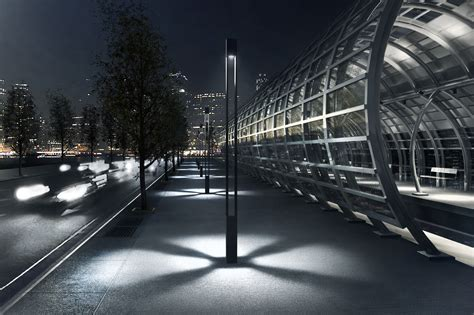vancouver square light column ligman lighting usa