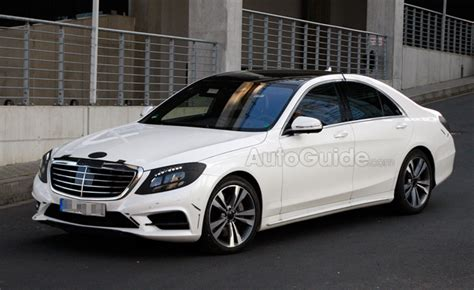 2014 Mercedes Sclass Design Revealed In Spy Photos
