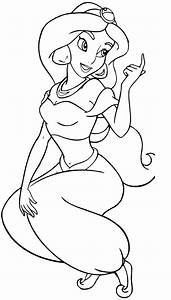 Free Printable Jasmine Coloring Pages For Kids - Best ...
