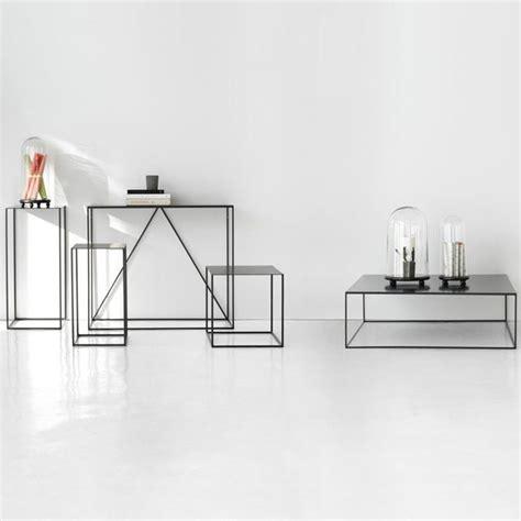 bout de canapé romy rectangulaire contemporain table 17 meilleures idées à propos de table basse avec pouf sur
