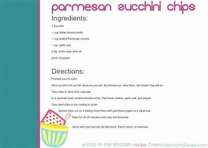 Zucchini Chips Parmesan Recipe Baked Oven Thismamaloves