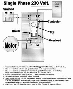 3 Phase Starter Wiring Diagram