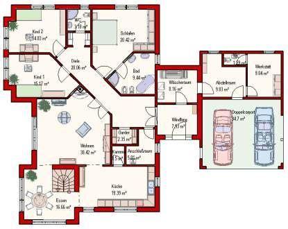 Grundriss Haus 8x10