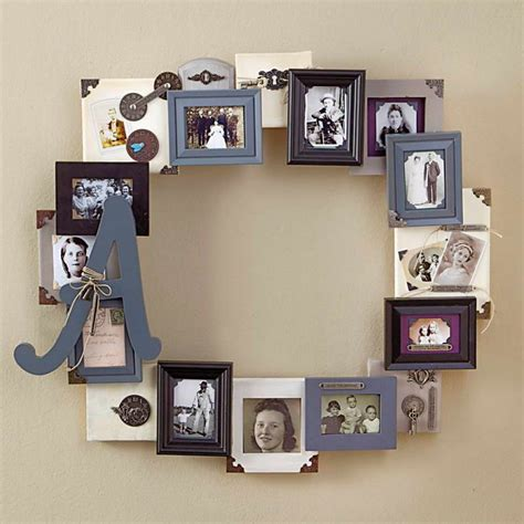 home interiors picture frames family photo frame collage idea with picture frame collage replacement and using vintage