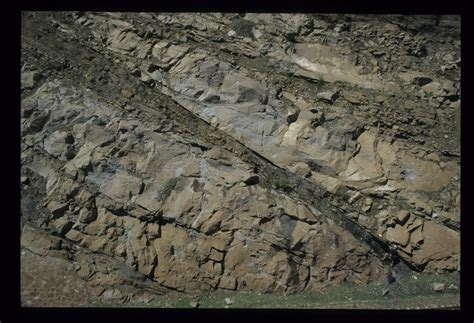 Trough Cross Bedding by Sedimentary Structures