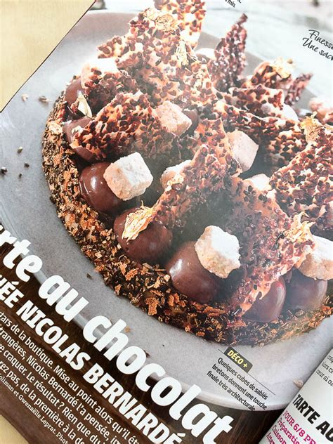 recette de cuisine professionnel recette ma tarte au chocolat cuisine actuelle