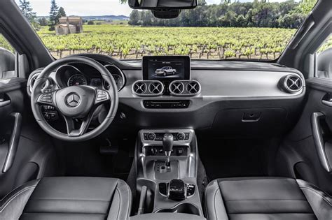 Mercedes X Class Interior by What S The Difference Between The Mercedes X Class