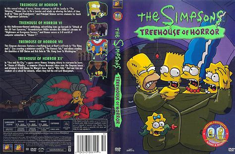 jaquette dvd de les simpsons treehouse  horror cinema
