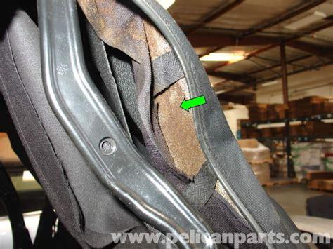 porsche  carrera common convertible top problem repair