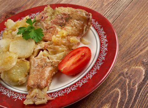 grouper baked potato apple