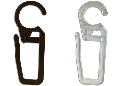 crochets pvc pour anneaux de tringle  rideaux lot de