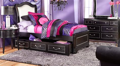 sofia vergara kayla black 5 pc twin panel bedroom teen