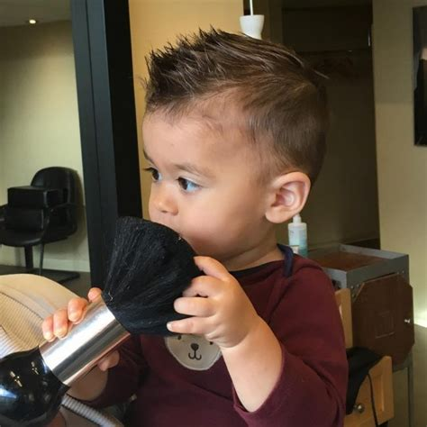 cutest baby boy haircuts treat  son  gentleman