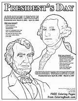Presidents Coloring Pages Printable Lincoln Abraham Hat President Washington George Douglass Frederick Drawing Sheets Pdf American Celebrate Coloringbook Holiday Books sketch template