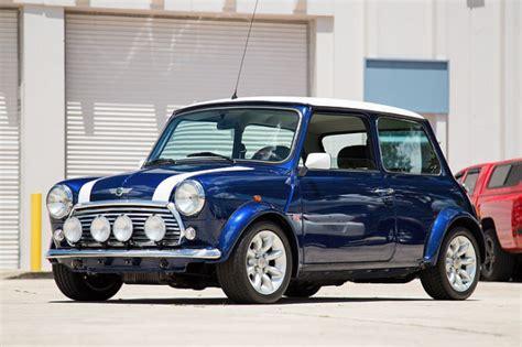 Mini Cooper Blue Edition Photo by 1996 Mini Cooper Blue Limited Edition For Sale