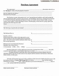 purchase agreement laurus title group With good faith contract template