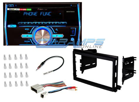 Pioneer Double Din Car Stereo With Complete Installation