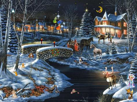 3d Snowy Cottage Animated Wallpaper - fashion show mall 3d snowy cottage animated wallpaper