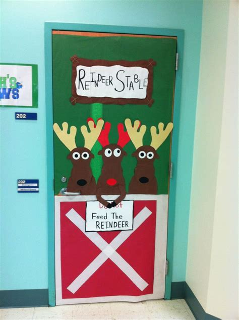 School Door Decorating Contest Ideas by Door Decorating