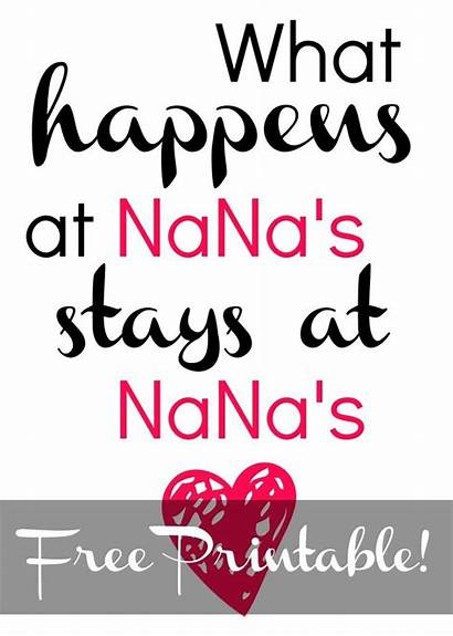 Nana Mothers Printable Mother Clipart Cards Printables