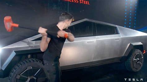 tesla cybertruck    stainless steel  spacex
