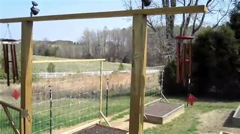 Garden Deer Fence by Garden Fence Construction How To Build Deer Groundhog