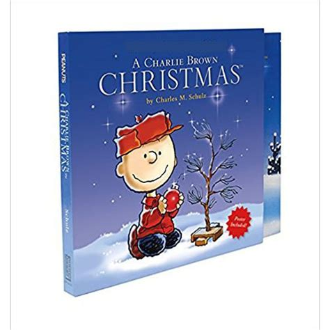 A Charlie Brown Christmas Hardcover Book (includes Poster