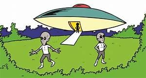 Alien Spaceship Clipart - Clipart Bay
