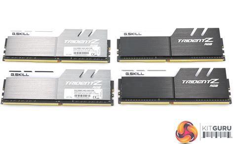 G.Skill TridentZ RGB 32GB DDR4-3200MHz (DDR4 with RGB ...