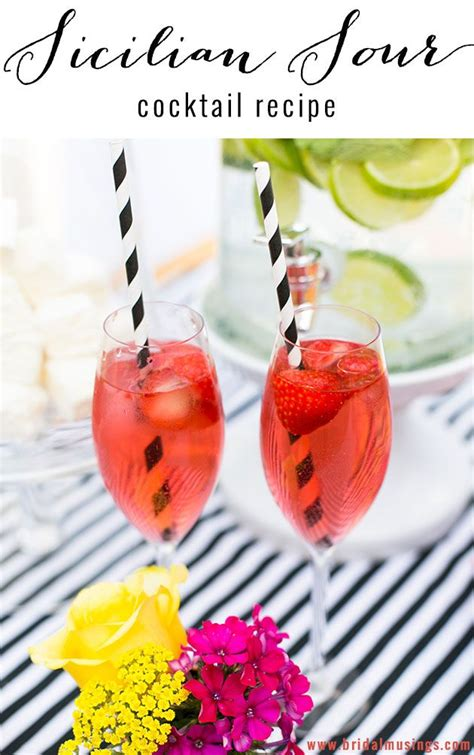 sicilian sour cocktail  anges de sucre sour cocktail