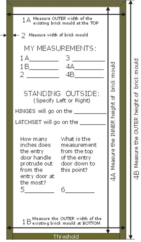 how to measure for a prehung door how to measure for a pre hung wooden screen door