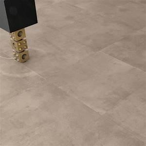 carrelage sol aspect beton nice tortora 60x60 cm With parquet nice