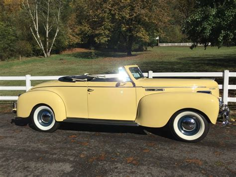For Sale New by 1940 Chrysler New Yorker Convertible For Sale